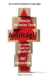Portada del libro: Antifrágil
