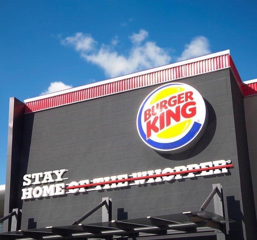 Campañas de publicidad creativas con motivo del coronavirus - BurgerKing