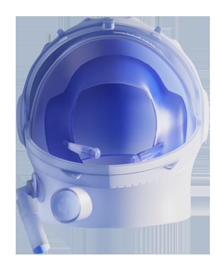 Icono Casco astronauta