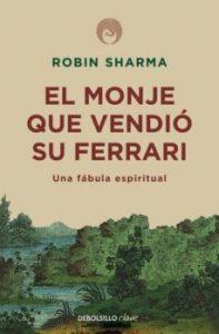 Portada del libro: El Monje que vendió su Ferrari