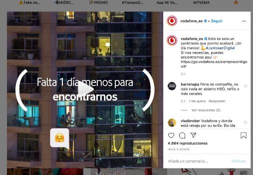 Campañas de publicidad creativas con motivo del coronavirus - Vodafone2