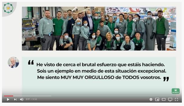Campañas de publicidad creativas con motivo del coronavirus - Mercadona